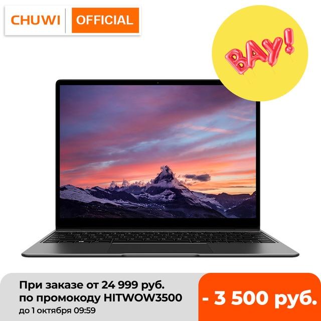 CHUWI GemiBook 13 Inch 2160*1440 Resolution Intel Celeron J4115 Quad Core 12GB RAM 256GB SSD Windows 10 Laptop Dual Band Wifi 1