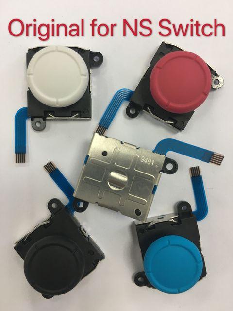 10 pièces/lot Original nouveau 3D analogique bâton Joycon contrôleur Joystick pouce bâtons capteur remplacement pour NS commutateur et Lite