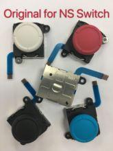 10 sztuk/partia oryginalny nowy 3D analogowy kij Joycon kontroler Joystick Thumb Sticks wymiana czujnika dla NS przełącznik i Lite