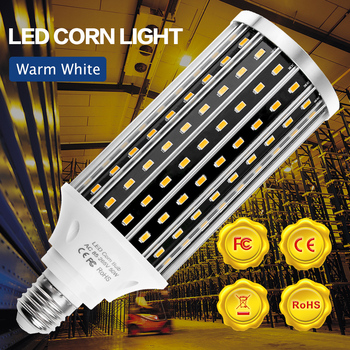 LED Light Bulb E27 LED Lamp 220V E39 Corn LED Bulb 50W Ampoule 110V High Lumen Lamp For Workshop Warehouse Factory Lighting 5730 led light e27 led lamp bulb 220v e39 led bulb 50w ampoule 110v high lumen lamp for workshop warehouse factory lighting 5730smd