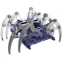 Teenagers children scientific DIY assembled toys science and education series electric spider robot experimental physics puzzle