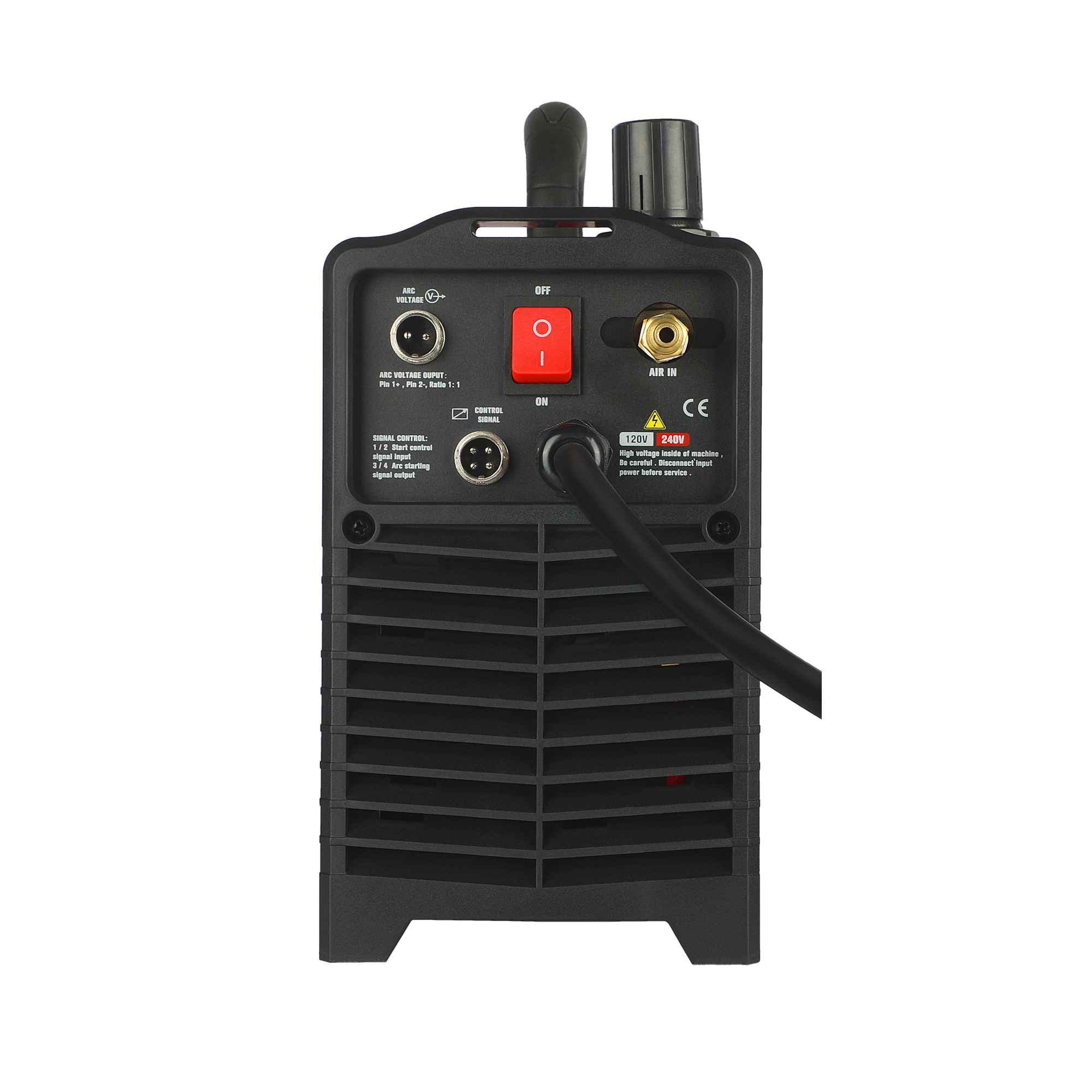CNC 120V Pilot LCD Plasma 240V Non Arc Plasma Back CNC Machine Blow IGBT HF Cutting Cutter Cut55i Voltage