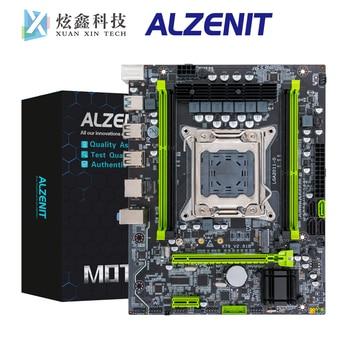 цена на ALZENIT X79M-CE5 For Intel C602 X79 Motherboard LGA 2011 Xeon E5 ECC REG DDR3 128GB M.2 NVME NGFF SATA3.0 USB3.0 M-ATX Mainboard