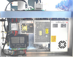 Image 5 - 30 واط سبليت آلة التعليم بليزر الألياف ماكينة وضع علامات معدنية ليزر حفارة آلة لوحة ليزر وسم mach الفولاذ المقاوم للصدأ