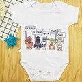 Комбинезон для новорожденных, с коротким рукавом, «звездные войны»