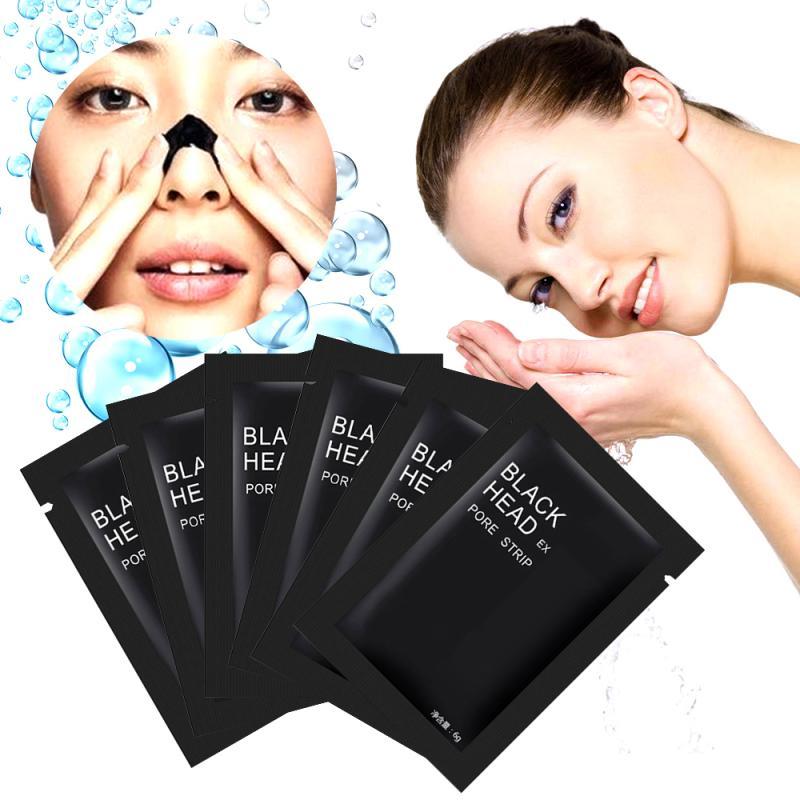 1 PCS Black Head Removal Mask Professional Peel-off Nose Mask Deep Cleansing Acne Treatment Pore Cleanser Black Masks TSLM2