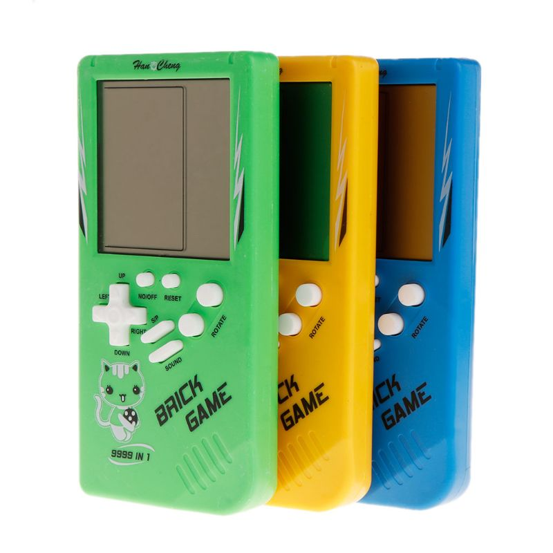 Big Screen Classic Handheld Game Machine Tetris Brick Game Kids Game Machine 26 Games 19QF