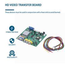 Аркадная игра rgb/cga/ega/yuv к двойному vga hd видео конвертер