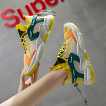 Women's Fashion Sneakers Trend Breathable Walking Shoes