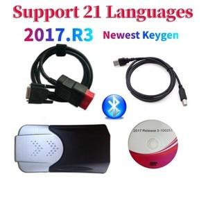 Image 1 - 2021 neue Ankunft 2017.R3 2016.R0 keygen vd ds150e cdp Bluetooth vd tcs cdp autos/lkw OBD Diagnose Werkzeug für delphis