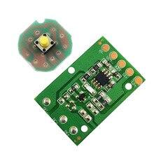 Circuit imprimé de contrôle de la lumière éblouissante, JYL 8813 T6 / U2/L2, carte électrique 3 fonctions 5 fonctions, engrenage