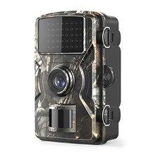 Câmera da trilha 12mp 1080p jogo câmeras de caça com visão noturna à prova dwaterproof água 2 Polegada leds lcd visão noturna cervos cam design