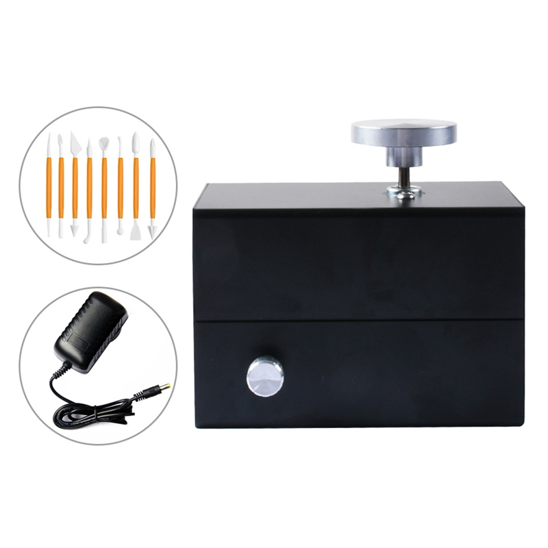 mini máquina de cerâmica elétrica da roda