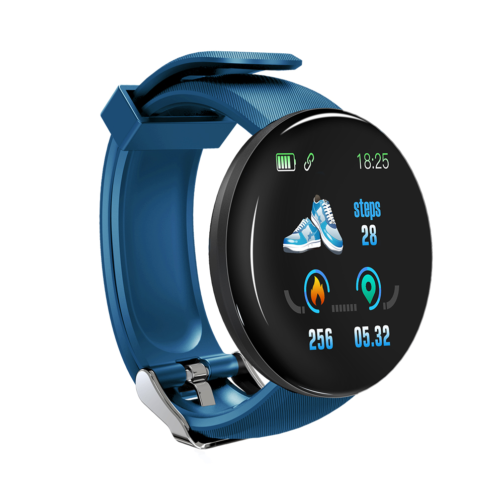 D18 Fitness Watches Heart Rate Smart Watch Tracker Monitor Blood Pressure Blood Oxygen Measurement for IOS Android phone|Smart Watches| |  - title=