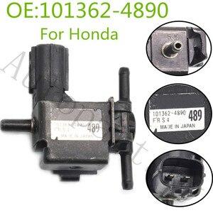 Image 1 - Orijinal OEM 1013624890 emisyon vakum vana Solenoid Honda CRV için MK3 07 12 2.2I CDTI i DTEC dizel 101362 4890 101362 4890