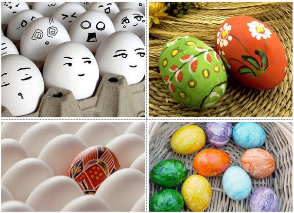 3pcs Good Quality Lovely Creative Wooden DIY Painting Egg DIY Creative Easter Egg Modelling Children Early Educational Toy