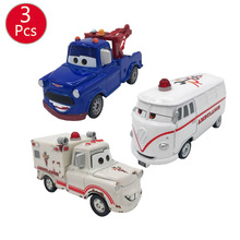Get more info on the 3pcs Disney Pixar Cars 7cm Cars Ramirez Lightning McQueen Racing Family Diecast Metal Alloy Toy Car for Kids Toys Halloween gift
