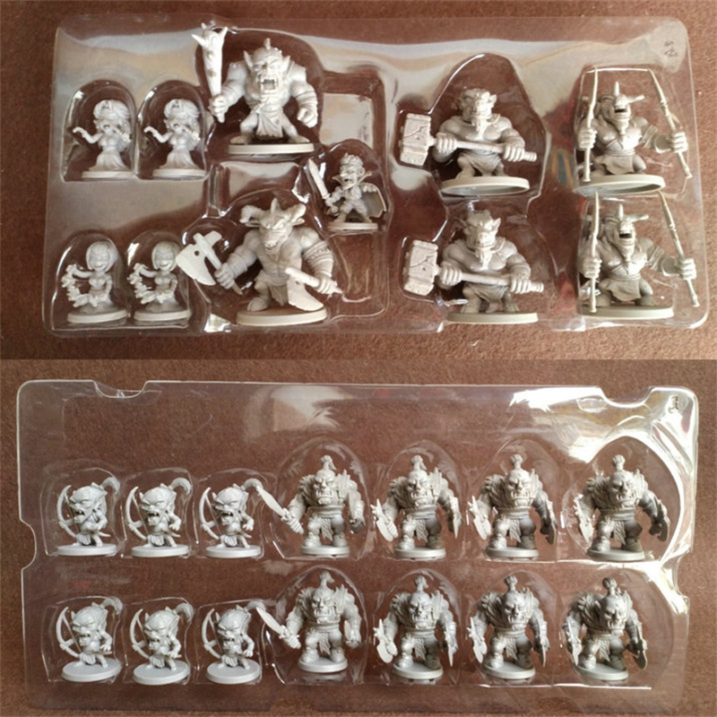 25pcs/Set  Arcadia Quest Role Playing Board Games Miniatures DND Model Wars Game Figures Toys