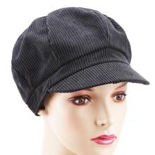 Hats Newsboy-Cap Octagonal-Caps Vintage Winter Women Fashion Autumn Gorras Warm Mujer