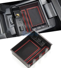 For Mazda Atenza 2013-2018 Interior Central Armrest Storage Box Container Console Tray Car Organizer Accessories carmonsons car organizer for peugeot 3008 2011 2016 central armrest storage box container holder tray accessories car styling