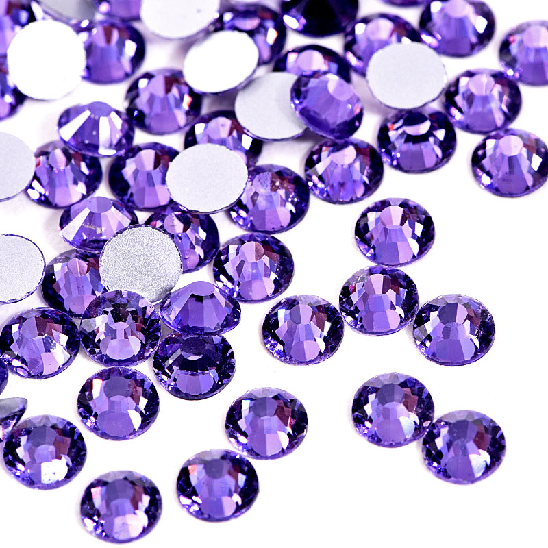 Beautiful Sparkly Light Amethyst Rhinestones Diamantes Gems AAA Quality