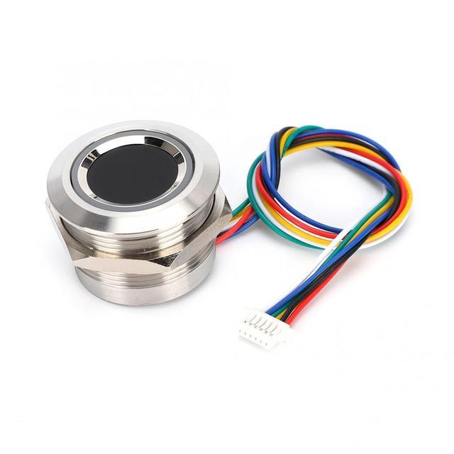 R503 แบบ Capacitive ลายนิ้วมือโมดูล 2 สีแหวนไฟแสดงสถานะ