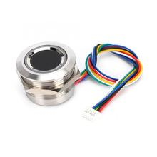 R503 Circular Capacitive Fingerprint Identification Module with 2 Color Ring Indicator Light