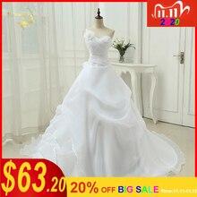 Vestido De Noivaสายหนึ่งไหล่Appliqueเจ้าสาวลูกไม้Organza Robe De Mariageงานแต่งงานชุด 2020 OW4042 Plusขนาด