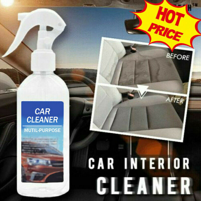 New 200ML Multi-functional Car Interior Cleaner For Stains Leather Fabric Car Interior Foam Cleaning Remove Grime
