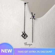 Thaya Colorful Firework Pendant Earring 925 Sterling Silver Original Design Jewelry for Women Party Accessories