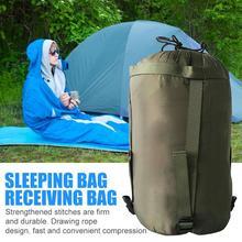 Уличные водонепроницаемые для кемпинга спальный мешок компрессионный пакет гамак для отдыха упаковка для хранения удобный легкий для дрифта туризма