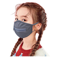 Unisex kids masks washable solid c