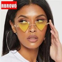 Солнечные очки rbrovo в треугольной оправе для мужчин и женщин
