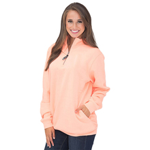 Liva girl Zipper Pullovers Women Solid V-Neck Sweatshirt Casual Loose Autumn Ladies Sweater Long Sleeve Top