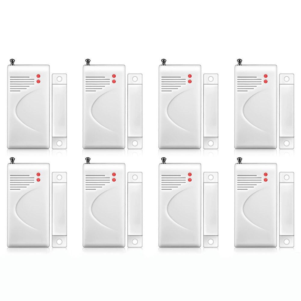 FUERS Door Sensor 433mhz Wireless Opening Sensor Home Alarm Security Window Door Sensor Gap Detector For DP500 10A Alarm Etc