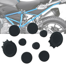 Pour BMW R1250GS LC Adventure R 1250 GS R1250 RS ADV 18-2020 moto cadre trou bouchon ensemble bouchon décoratif couvercle anti-poussière accessoires