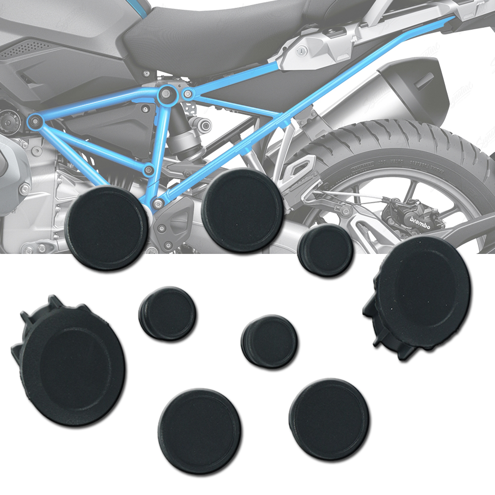 Per BMW R1250GS LC R1250 GS R 1250 GS ADV Adventure 2019 Telaio della Moto Foro del Tappo Spina Set Decorativo di Polvere accessori di copertura