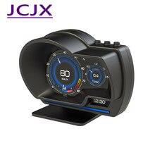 Auto HUD Head Up Display OBD II/GPS Dual System Digital Auto HUD Display ehicle Tacho Überdrehzahl Warnung Motor RPM