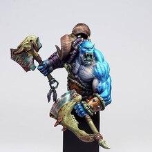 1/10 antik adam savaşçı orc büstü (taban) reçine şekilli kalıp kitleri minyatür gk Unassembly boyasız