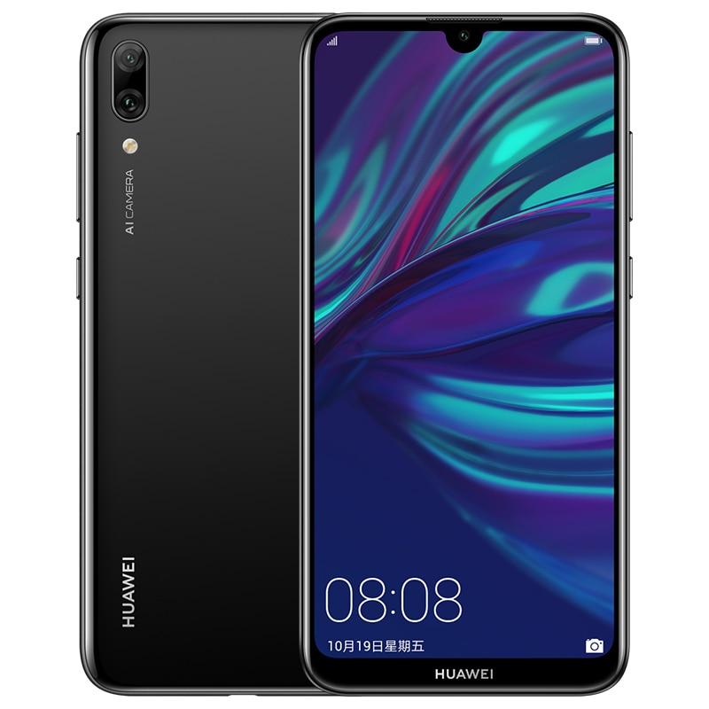 Stock nouveau microprogramme mondial Huawei Y7 Pro profiter de 9 téléphone intelligent Android 8.1 6.26 pouces Snapdragon 450 Octa Core visage déverrouiller 4000mAh