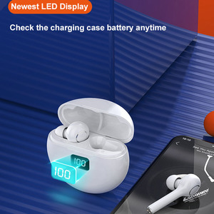 Image 3 - TWS Wireless Earphones Bluetooth 5.0 Headphones LED Display Earbuds Magnetic Charging Touch Control With Mic for Xiaomi iPhone