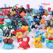 TAKARA TOMY Pokemon Dolls Pocket Monster Pikachu Figures Model Toys Action Figure Kids Gifts 5CM 130pcs