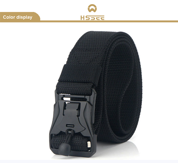 H03d1f84479854d42a645d819273e4000o - HSSEE New Mens Tactical Belt Hard Metal Quick Release Magnetic Buckle Mens Military Nylon Belt 3mm Soft Real Nylon Sports Belt