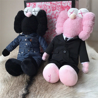 Street Art Poplar Fashion Plush Doll Model Decoration Collection Toy 2 Style Kaw Signed Jointly