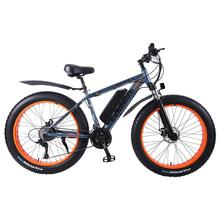 Electric Snow Bike Two Wheeled Electric Bicycles 36V 350W 26 Inch 4 0 Fat Tire Beach