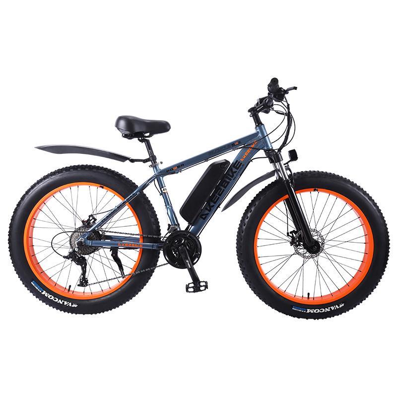 Electric Snow font b Bike b font Two Wheeled Electric Bicycles 36V 350W 26 Inch 4