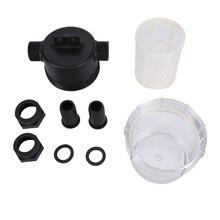 Transparent Inline Mesh Strainer Water Pump Filter Irrigation High Flow Kitchen Storage Gadgets Tools