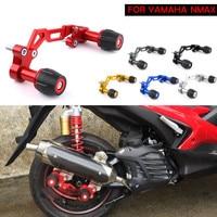 Franchise Universal Motorcycle Exhaust Pipe Sliders Falling Protection For Yamaha NVX Aerox NMAX 155 XMAX 300 Honda PCX 150