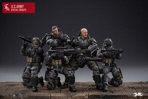 Image 4 - شخصيات الحركة الجديدة من JOYTOY موديل 1/18 لنموذج فيلق الجيش الأمريكي هدية عيد الميلاد/الإجازات شحن مجاني
