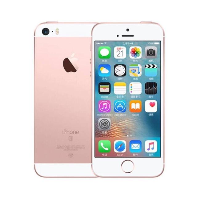 Original New Unlocked Apple iPhone SE A1723 LTE Mobile Phone 4.0″ 2GB RAM 64GB ROM Dual-core Fingerprint 1642mAh Smart Phone